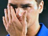 """Reuters""/""Scanpix"" nuotr./Pralaimėjęs Melburne R.Federeris verkė"