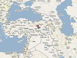 Google Maps žemėlapis ia earthquake.usgs.gov/Rytinę Turkiją supurtė žemės drebėjimas.