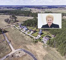 Prezidentė Dalia Grybauskaitė pardavė savo sklypą Pašiliuose