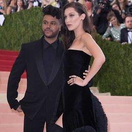 """Scanpix""/""SIPA"" nuotr./The Weeknd ir Bella Hadid"