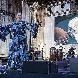 Laima Zemeikienė- Klaipėdos pilies džiazo festivalis 2