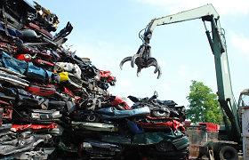 AGIA organizuos netinkamų eksploatuoti transporto priemonių tvarkymą