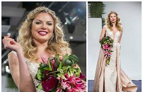 Solveiga Mykolaitytė sulaužė savo įsitikinimus ir pirmąkart demonstravo nuotakos suknelę