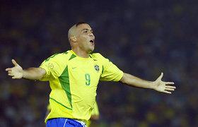 Ronaldo atskleidė, kodėl 2002 m. pasaulio čempionatui pasirinko keistą šukuoseną