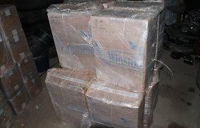 55 000 eurų vertės kontrabandinį krovinį gabenę ir nuo pareigūnų sprukę vyrai – pagauti