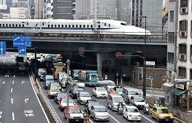 Kraupią ataką priminęs incidentas Japonijoje: į ligoninę nuvežta pustuzinis žmonių