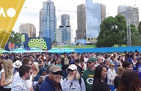 """Australian Open"" rekordas – 82 tūkst. gerbėjų"