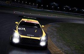 """""""Simuliatorių akademijos"""" 24 valandų virtualių lenktynių starte – avarija"""