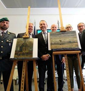 Italijos policija surado beveik prieš 15 metų pavogtus Van Gogho paveikslus
