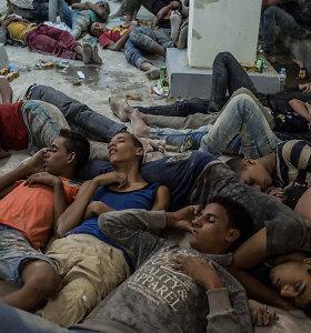 Egipte, dėl bent 42 migrantų gyvybes nusinešusios nelaimės Viduržemio jūroje, suimti 4 asmenys
