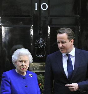 Britai sieks, kad NATO generaliniu sekretoriumi taptų Davidas Cameronas