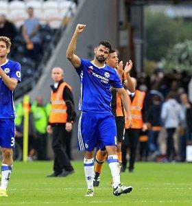 """Londono """"Chelsea"""" pagaliau nutraukė pergalių badą"""