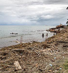 Havajai pavojuje: po žemės drebėjimo salyno link gali artėti cunamio bangos