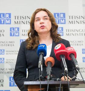 Milda Vainiutė dėl chaoso Kalėjimų departamente nelinkusi kaltinti savo pirmtako Juozo Bernatonio