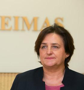 Loreta Graužinienė: kai kuriose biudžeto vietose neatsižvelgta į lėšų poreikius