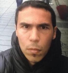 Sučiuptas 39 žmones Naujųjų metų naktį Stambulo klube išžudęs vyras
