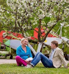 Inga Norkutė-Žvinienė su vyru Aurimu televizijoje vaidins įsimylėjėlių porą