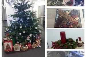 Agnės J. (Panevėžys) kalėdinė dekoracija