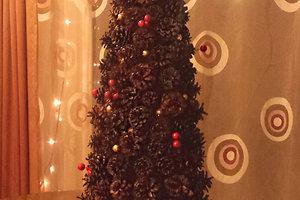 Eglės V. kalėdinė dekoracija