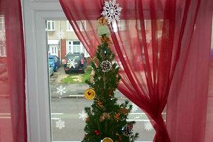 Justynos V. (Londonas) kalėdinė dekoracija