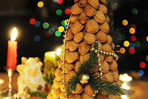 Neringos L. (Kaunas) kalėdinė dekoracija