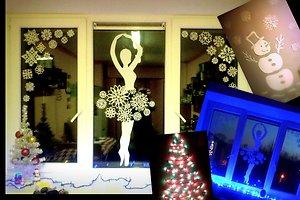 Vilijos M. (Akmenės raj.) kalėdinė dekoracija