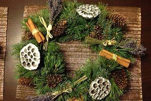Violetos D. (Kaunas) kalėdinė dekoracija