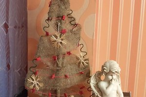 Violetos (K.) kalėdinė dekoracija