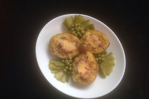 """Įdarytos bulvės """"Rudenėlis"""" (Gražinos U. receptas)"""