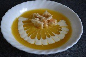 Kreminė moliūgų sriuba (Erikos Ž. receptas)