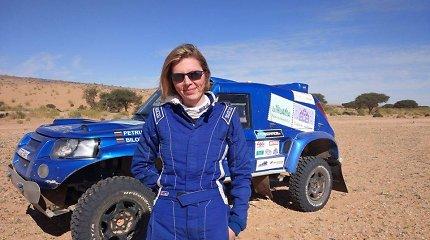 """Seimo narės A.Bilotaitės ir G.Petraus ekipažas finišavo """"Africa Eco Race"""" lenktynėse"""
