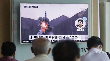 JAV įspėja: Šiaurės Korėja pajėgi paleisti branduolinė kovinę galvutę, bet dar negali jos nutaikyti
