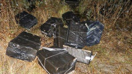 Lietuvoje praradę 11 tūkst. pakelių kontrabandininkai spruko į Baltarusiją