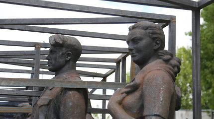 D.Varnaitė: Žaliojo tilto skulptūras turėtų perimti Lietuvos dailės muziejus