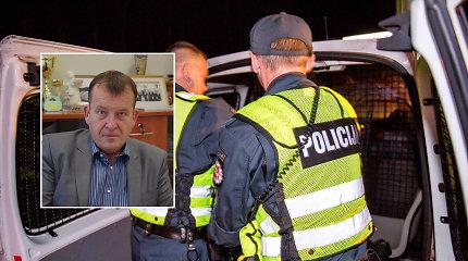Utenos vicemeras bandė nuslėpti, jog įkaušęs įžeidinėjo ir šantažavo policijos pareigūnus