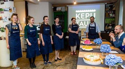 """Konkurso #KepuTau finalistės """"Kulinarijos studijoje"""" surengė tikrą skonio šventę"""