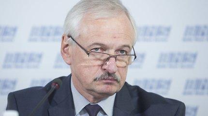 Prezidentė Evaldą Gustą paskyrė laikinuoju sveikatos apsaugos ministru