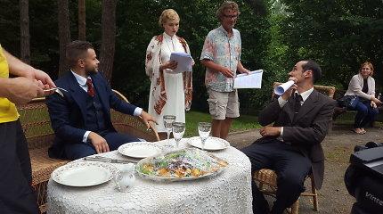 Istoriniame seriale vaidmenį kurianti Toma Vaškevičiūtė atsidūrė meilės trikampyje