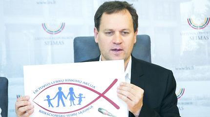 Lenkų rinkimų akcijos logotipo kūrėjas Raimundas Zacharevičius: šeimos ženklas nėra užpatentuotas – su juo galima daryti ką nori