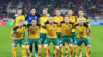 FIFA reitingas: Lietuva smigo žemyn, Rusija – rekordiškai žemai
