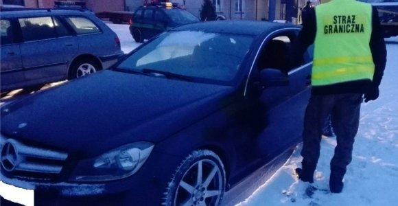 "Lenkijoje įkliuvo dar vienas lietuvis su vogtu ""Mercedes"""