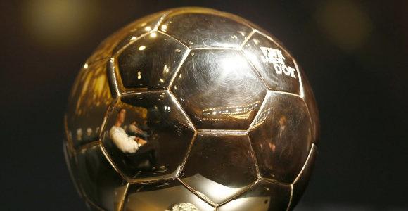 """Paskelbta, kaip bus renkamas """"Auksinio kamuolio"""" laimėtojas"""