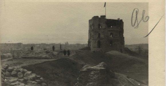 Ypatingajame archyve – dokumentai apie 1948 metų tyčinį padegimą Gedimino pilies kalno slėptuvėje