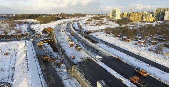 Didžioji diena Vilniaus miestui: gruodžio 20-ąją bus atidarytas vakarinis aplinkkelis
