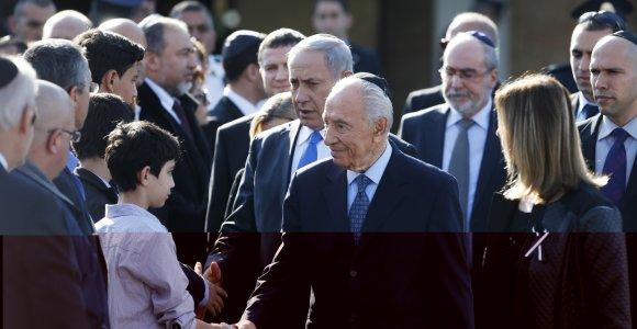 Mirė buvęs Izraelio prezidentas Shimonas Peresas
