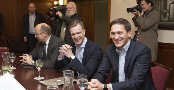 Valstiečiai-žalieji susitiko konsultacijų su konservatoriais
