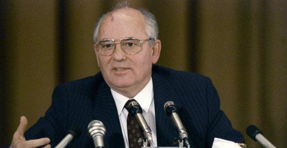 Prokuroras: imtis veiksmų prieš M.Gorbačiovą šiuo metu neįmanoma