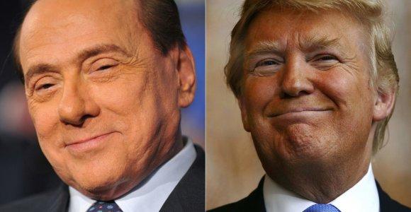 Jei S.Berlusconį galima lyginti su D.Trumpu, tai ko iš italų gali pasimokyti amerikiečiai?