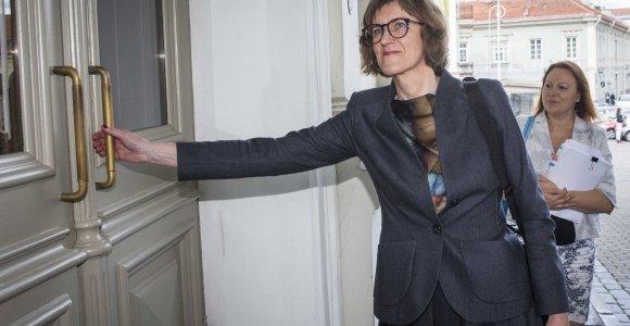 Viešųjų pirkimų tarnybos vadovė Diana Vilytė: premjeras sako netikslią informaciją