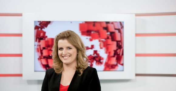 """""""Lietuvos ryto"""" televizijos žinių nauja vedėja – Guoda Pečiulytė"""